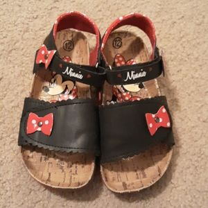 Cute Minnie mouse sandals